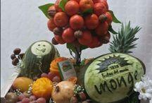 cestas saludables vegetales