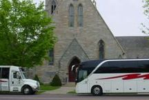 Weddings / Your wedding day transportation is more than just a way to get from the ceromony to the reception; it's an opportunity to make a statement. When deciding on your transportation provider, look for a company that matches -- and even enhances -- your wedding day style.