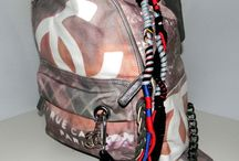 chanel backpack graffiti 2014 / you can see all is fashion and cool