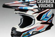 Shoei Motocross Helmets