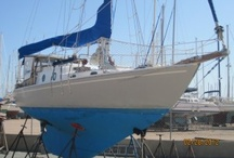 Our Sailboat: S/V Selkie / Our extensively refit 1962 Pearson Triton that we sailed for a year in the Sea of Cortez, Mexico.