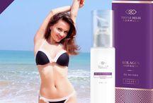 Pielęgnacja skóry po opalaniu / Przedstawia produkty kolagenowe, które doskonale pielęgnują skórę podrażnioną opalaniem.