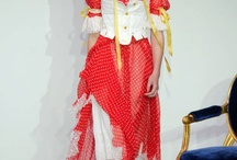Lilien Czech Jewelry performing on London Fashion Week 2012 for Meadham Kirchhoff
