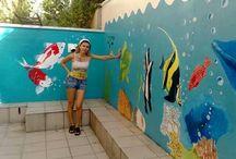 moje maľby na steny