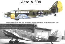 Aero, Let, Letov, Orilčan, Praga, Škoda, Zlín - Czechoslovak/Czech aircraft companies