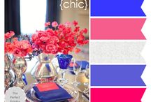 Color combos / Color inspiration for those of you who want to branch out beyond the two color scheme