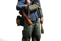 """WW2 - FORMATIONS - FALSCHIRMJAGERS / Fallschirmjäger(niem.Strzelec spadochronowy) –wojska powietrznodesantoweLuftwaffewalczące na wielu frontachII wojny światowej. Popularnie nazywaniGrüne Teufel(""""Zielone Diabły"""")."""
