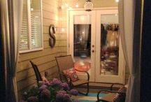 Patio ideas! / by Hilary Riggins