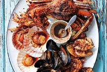 Oh Fresh Seafood ! / I'm in love with the freshness of seafood! Oceans and seas are so amazing ! Prawns, squids, octopus!  Here a list of delicious fish meals !