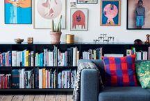 Montana bookshelves