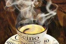 Coffee/Foam Art/Cappuccino
