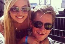 Luke benward and Olivia holt
