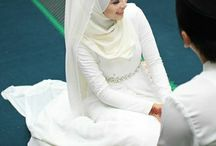 moslem wedding veil