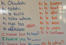 Te Reo Maori Sentence Structure