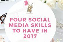 Work - Social media