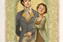 Jane Austen Drawings