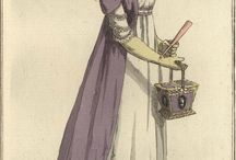 Early 19th c. Fashion Plates / by Betsy Bashore
