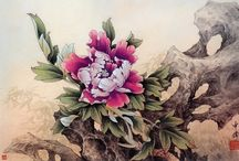 Китайская живопись. Живопись Суми-э / Китайская живопись. Живопись  Суми-э