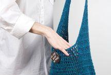 Tašky, kabelky a kabely / Háčkování, pletení, šití