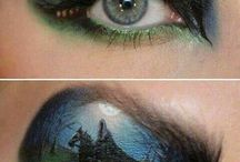 Beauty Review - Halloween - Make up ideas / Get inspired -  www.beautyreview.co.nz