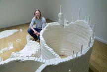 Suikerklontjes bouwen