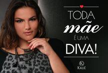 Moda Plus Size -Kauê Mães- Toda Mulher uma Diva / Kauê vest sua Mãe Winter 2015