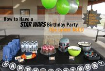 August´s 3rd Birthday Party STARWARS
