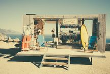 Our Mobile Beach House / Our pop-up store is like a classic beach shack. And we're coming to your city soon.