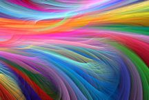 RAINBOW COLORS   ********** / SO SO BEAUTIFULL COULEURS CANT STOP TO PIN  !!! / by Jacqueline P
