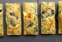 Cake fêta olive