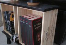 Idées petit meuble avec caisse