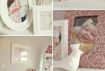 Inspiratie babykamer / Ideeën babykamer meisje
