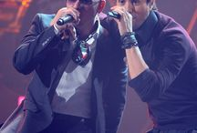 Enrique and Pitbull