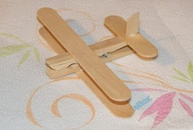 Mollette di legno/bastoncini ghiaccioli
