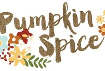 Pumpkin Spice / With florals in warm tones of yellow, orange and rust, hints of gingham and distressed wood accents, Pumpkin Spices makes all of your fall paper crafting projects nice!