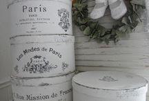 Inredning, Shabby chic, vintage, fransk lantstil