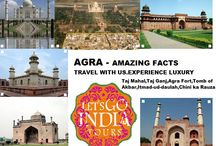 Places in AGRA / Read our blog : http://letsgoindiatours.blogspot.in/2016/02/places-to-see-in-agra.html