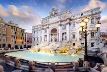 Bella Italia- Rom / Antike Monumente, hunderte von Kirchen und wie Theaterkulissen aufgestellte Renaissance-Paläste. Barocke Brunnen und Obelisken zieren die Plätze. Hier läuten die Glocken des Petersdoms.