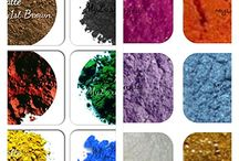Pigment Powder Samples for Soap and Cosmetic making