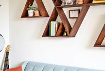 wall decoration / All about walls, what to hang on the wall, how to decorate walls etc