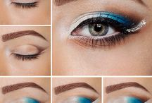 Inspirasi Make Up Mata / Untuk yang ingin bereksperimen dengan berbagai warna eye shadow yaaa temen-temen. Monggo boleh kook di-share IG/LINE/Youtube: @jengnad