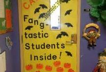 classroom door decorating