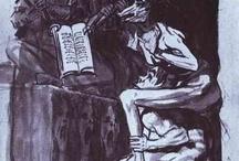 Goya / Storia dell'arte Pittura Disegno Incisione  18°-19° sec. Francisco Goya  1746-1828