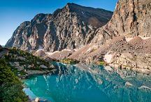 High alpine lakes!