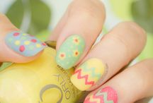 Roundup Post: Easter-Inspired Nail Designs