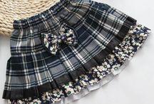 Faldas para niñas