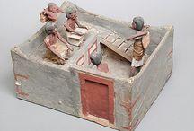 Egyptian funerary models
