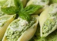conchiglie al pesto