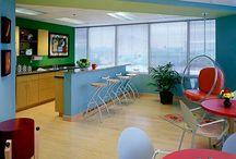 Contemporary Staffroom