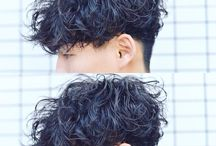 髪型 パーマ